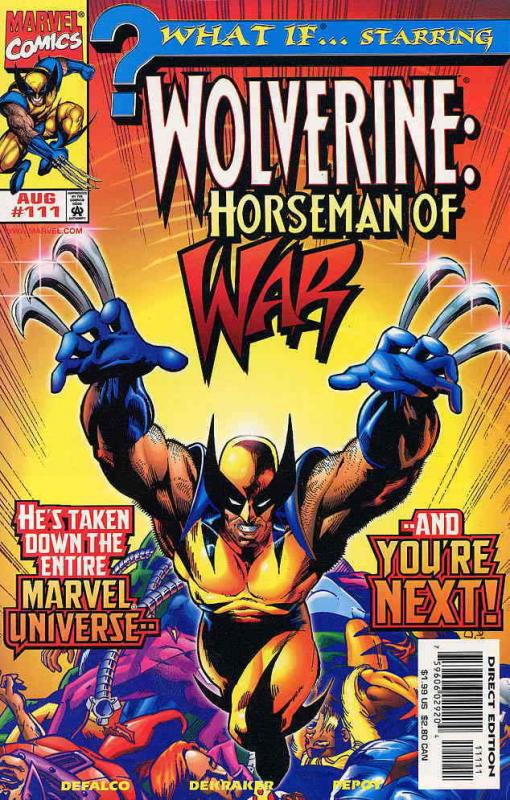 What If…? (Vol. 2) #111 VF/NM; Marvel | save on shipping - details inside