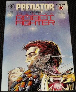 Predator vs. Magnus Robot Fighter #2 (1993)