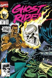 Ghost Rider (1990 series) #20, NM- (Stock photo)