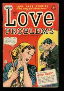 LOVE PROBLEMS AND ADVICE ILLUSTRATED #10 1951-BOB POWEL VG