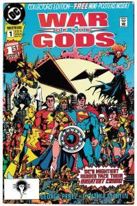 War Of The Gods #1 / 1st App of Circe (DC, 1991) FN