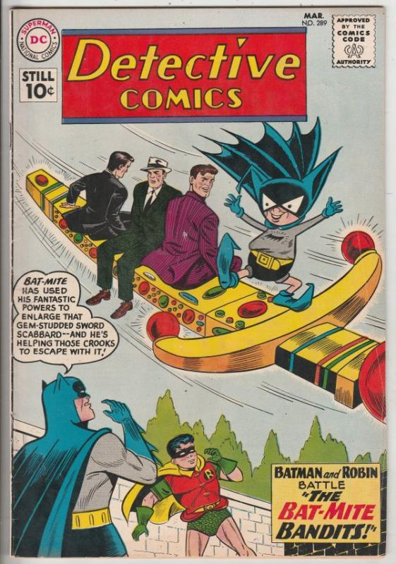 Detective Comics #289 (Mar-61) VF+ High-Grade Batman