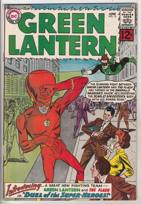 Green Lantern #13 (Jun-62) VF+ High-Grade Green Lantern