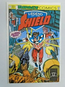 Legend of the Shield #1 8.0 VF (1991)