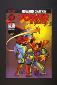 Power and Glory #3 April 1994 by Howard Chaykin Malibu Comic