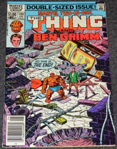 Marvel Two In One #100 -1983