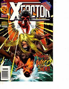 Lot Of 6 Factor X Marvel Comic Books #116 117 118 119 120 121 Thor Iron Man DC5