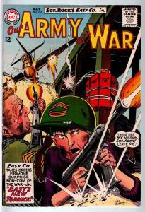 OUR ARMY AT WAR #142 1964-DC WAR COMIC-SGT. ROCK-VF+ VF+