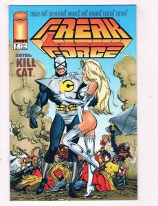 Freak Force #7 VF/NM Image Comics Comic Book July 1994 DE43 TW14