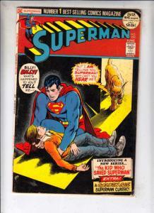Superman #253 (Jan-72) VG Affordable-Grade Superman