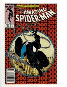 Amazing Spider-Man # 300 NM- Marvel Comic Book Venom McFarlane Goblin Lizard OF2