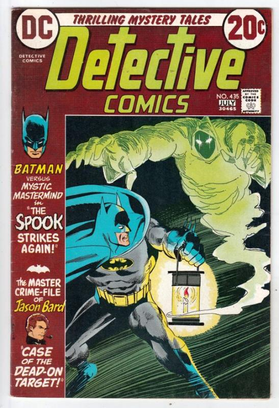 Detective Comics #435 (Jul-73) VF/NM High-Grade Batman