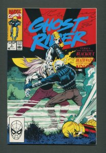 Ghost Rider #3 /  9.4 NM - 9.6 NM+  /  July 1990