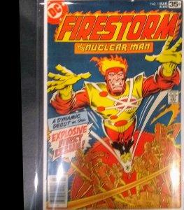Firestorm the nuclear man #1