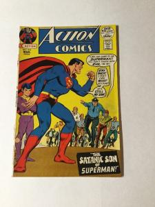 Action Comics 410 8.5 Vf+ Very Fine + Silver Age