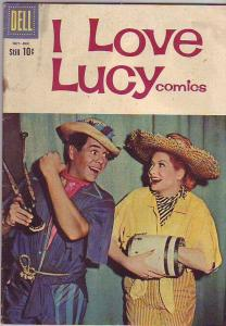 I Love Lucy #29 (Oct-60) VG Affordable-Grade Lucy and Ricky Ricardo, Ethel Me...