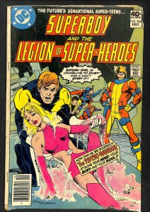 Superboy and the Legion of Super-Heroes #258