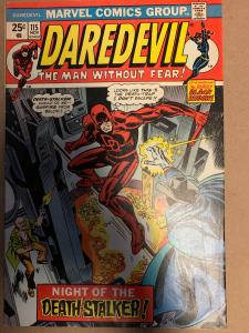 Daredevil (1964) 115 Very Fine - (7.5) Guest Starring Black Widow