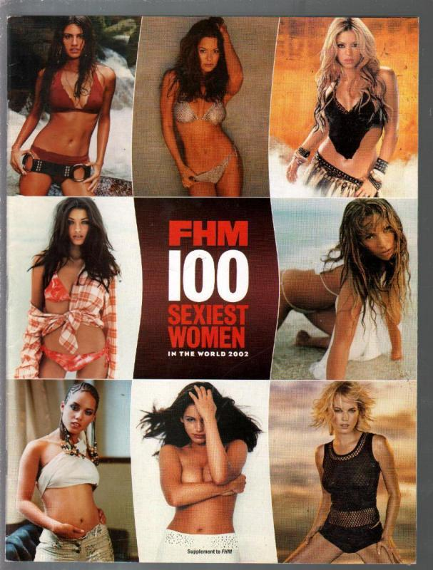 FHM 100 Sexiest  Women In The World 2002-Kate Hudson-Jessica Alba-Faith Hill-FN