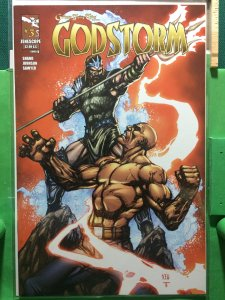 Grimm Fairy Tales presents Godstorm #3 cover B