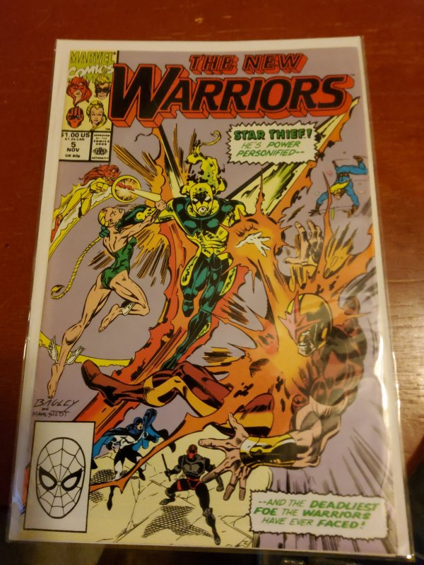 New Warriors () #5