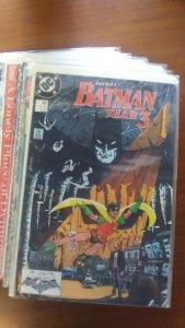 Huge Batman Run. #437-456 All in excellent condition.