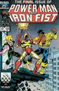 Power Man And Iron Fist #125 VF/NM; Marvel | save on shipping - details inside