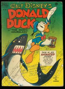 DONALD DUCK MAGIC HOURGLASS-FOUR COLOR COMICS #291 1950 VG