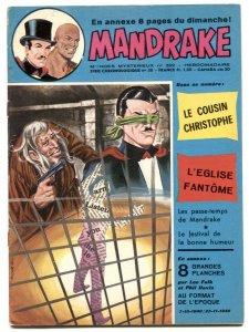 Mandrake the Magician #392 1973- French comic FN