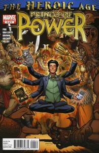 Heroic Age: Prince of Power #4 VF/NM; Marvel   save on shipping - details inside