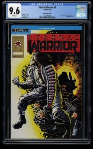 Eternal Warrior #1 CGC NM+ 9.6 White Pages Gold Variant Cover!