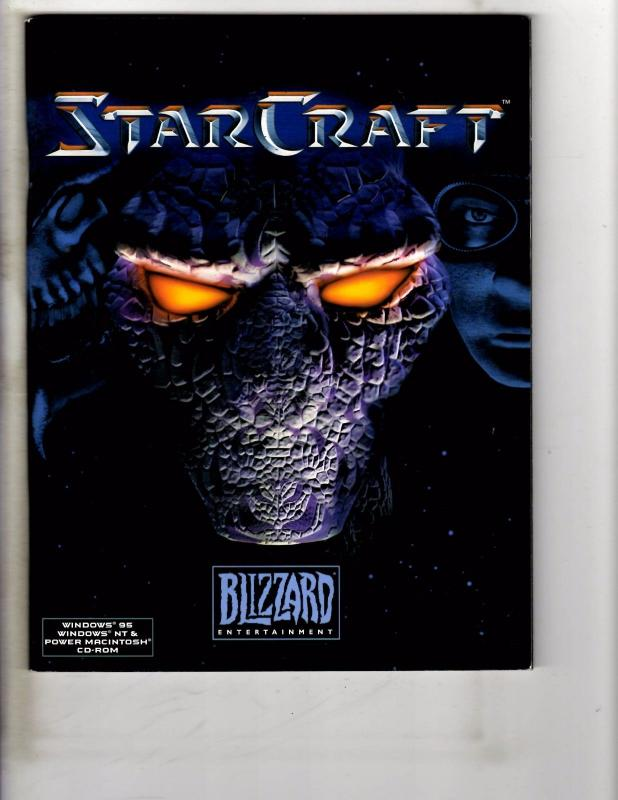 Lot Of 2 Starcraft Books Prima Official Strategy Guide & Windows 95 User GD J233