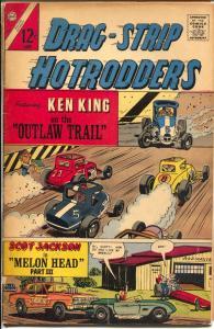 Drag-Strip Hotrodders #5 1967-Charlton-super mods-race car stories-G