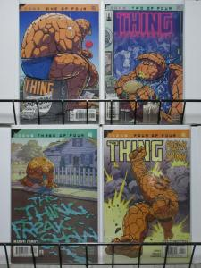 THING FREAKSHOW (2002)  1-4  Fantastic FourTHE SET!