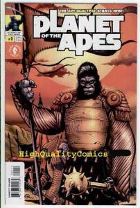 PLANET of the APES #1, NM+, Ape-ocalypse, Ian Edginton, 2001, more PotA in store