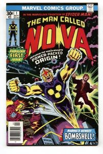 NOVA #1 First issue 1976 Comic book First appearance NM-