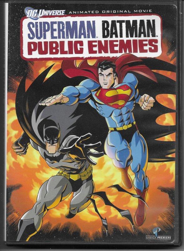 Superman/Batman: Public Enemies DVD