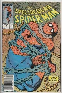 Spider-Man, Peter Parker Spectacular #145 (Dec-88) FN Mid-Grade Spider-Man