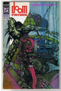 DOOM PATROL #48, NM-, Grant Morrison, Simon Bisley, 1987, more in store