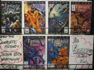 FANTASTIC FOUR THE END (2006) 1-6  ALAN DAVIS  complete