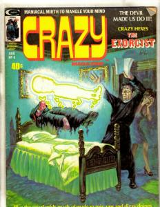 Crazy Magazine # 6 VG/FN Curtis Marvel Comic Book Group Shaft TV Misguide JK1