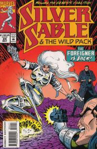 Silver Sable #24 VF/NM; Marvel | save on shipping - details inside