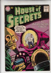 House of Secrets #35 (Aug-60) VG Mid-Grade Mark Merlin