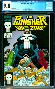 Punisher: War Zone #3 CGC 9.8