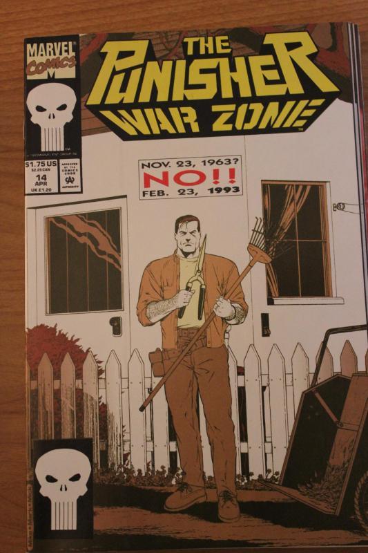 The Punisher War Zone 14 NM
