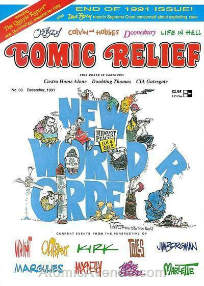Comic Relief (magazine) #30 FN; Page One | save on shipping - details inside