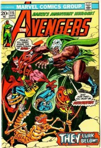 The Avengers #115. VF/NM! This one pops in color!
