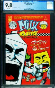 Milk & Cheese #1 CGC 9.8-First issue-Slave Labor- 0358196013