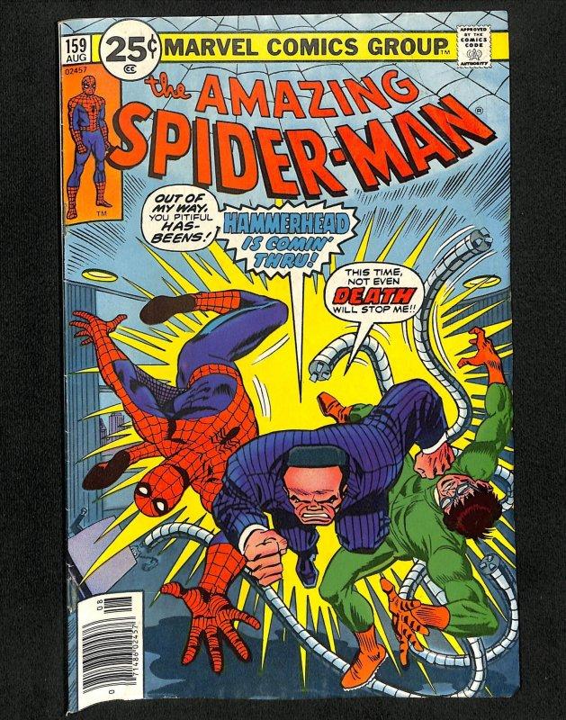 Amazing Spider-Man #159 Hammerhead Doctor Octopus!