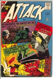 Attack #57 1959-Charlton-Sam Glanzman cover & story art-G/VG
